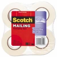"Scotch Tape,Tear by Hand, 4pk,Cr 38424 - 1.88"" x 50 yds"