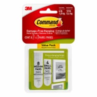 Command™ Damage-Free Small and Medium Picture Hanging Strips - White