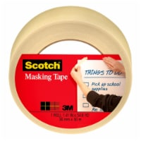 Scotch® Home and Office Masking Tape - White