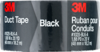 3M Black Duct Tape - 1.88 in x 20 yd
