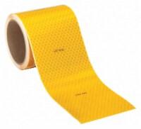 3m Reflective Tape,Fluorescent Yellow,4in W HAWA 983