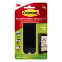 Command™ Damage-Free Picture Hanging Strips - Black - 4 pk
