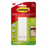 3M Command Picture and Frame Damage-Free Strips 4 Pack - Narrow