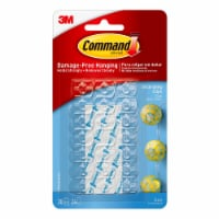 Command™ Damage-Free Hanging Decorating Clips - Clear