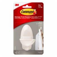 Command™ Decorative Damage-Free Quartz Double Hook