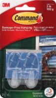 Command™ Damage-Free Medium Hanging Hooks - Clear