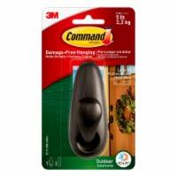 Command™ Outdoor Damage-Free Metal Hook - Bronze Metal - 1 ct