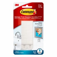 Command™ Bath Picture Hanging Strips - White