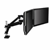 3M Desk Mount for Flat Panel Display - Black - 20 lb Load Capacity - 1 Each