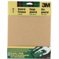 3M General-Purpose 9 In. x 11 In. 150 Grit Fine Sandpaper (5-Pack) 9001NA - 1