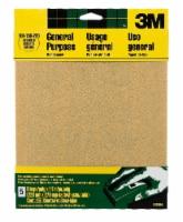 3M General Purpose Assorted Grit Sandpaper - 5 Pack - Natural - 9 x 11 in