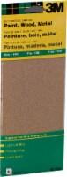 3M Aluminum Oxide Fine Sandpaper - 6 Pack - 3.625 x 9 in