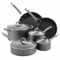 Circulon Elementum Hard-Anodized Nonstick Cookware Set - Gray