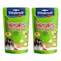 Vitakraft Sun Seed 512018 2.5 oz Mini Drops Treats - Banana & Cherry - 1