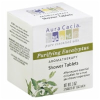 Aura Cacia Purifying Eucalyptus Aromatherapy Shower Tablet