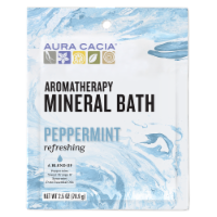 Aura Cacia Refreshing Peppermint Mineral Bath