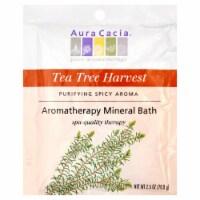 Aura Cacia Tea Tree Harvest Aromatherapy Mineral Bath