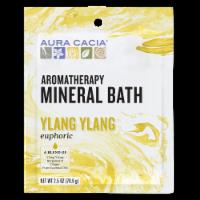 Aura Cacia Euphoria Ylang Ylang Aromatherapy Mineral Bath