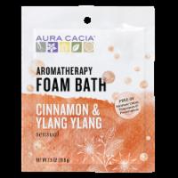 Aura Cacia Cinnamon Ylang Ylang Foam Bath