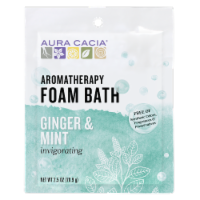 Aura Cacia Ginger & Mint Foam Bath