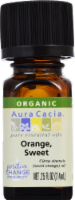 Aura Cacia Organic Sweet Orange Oil