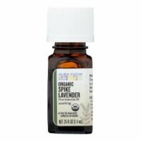 Aura Cacia - Organic Essential Oil - Lavender Spike - .25 oz - Pack of 3