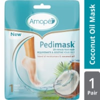 Amope Pedimask Coconut Oil Foot Sock Mask