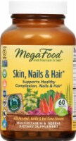 MegaFood Skin Nails and Hair Tablets 60 Count