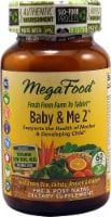 MegaFood Baby & Me 2 Pre & Post Natal Dietary Supplement Tablets 60 Count