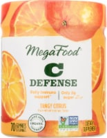 MegaFood C Defense Tangy Citrus Daily Immune Support Gummies - 70 ct