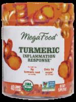 MegaFood Turmeric Inflammation Response Gummies - 40 ct