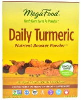 MegaFood Daily Turmeric Single Serve Nutrient Boost Powder