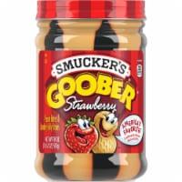 Smucker's Goober Peanut Butter & Strawberry Jelly Stripes - 18 oz