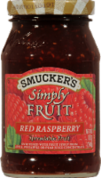 Smucker's Simply Fruit Red Raspberry Fruit Spread