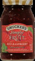Smucker's Simply Fruit Red Raspberry Fruit Spread - 10 oz