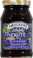 Smucker's Simply Fruit Seedless Blackberry Fruit Spread - 10 oz