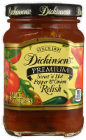 Dickinson's Sweet 'N' Hot Pepper & Onion Relish