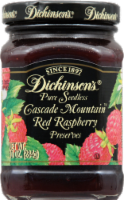 Dickinson's Pure Seedless Cascade Mountain Red Raspberry Preserves