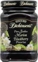 Dickinson's Pure Seedless Marion Blackberry Preserves