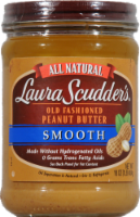 Laura Scudder's All Natural Smooth Old Fashion Peanut Butter