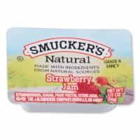 Smuckers Natural Strawberry Jam, 1/2 Ounce -- 200 per case.