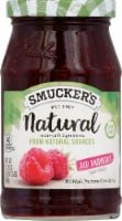 Smucker's Natural Red Raspberry Fruid Spread