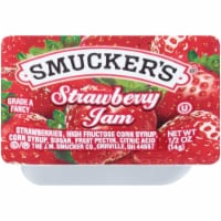 Smuckers Strawberry Jam, 0.5 Ounce -- 400 per case.
