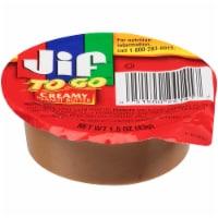 Jif To Go Creamy Peanut Butter, 1.5 Ounce -- 36 per case. - 36-1.5 OUNCE