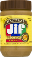 Jif Natural Creamy Honey Peanut Butter