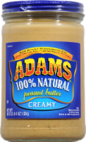 Adam's 100% Natural Creamy Peanut Butter