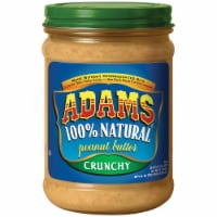 Adams 100% Natural Crunchy Peanut Butter