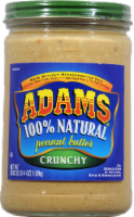 Adam's 100% Natural Crunchy Peanut Butter