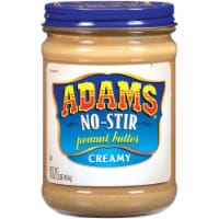 Adams No-Stir Creamy Peanut Butter