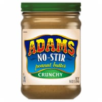 Adams No-Stir Crunchy Peanut Butter
